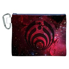 Bassnectar Galaxy Nebula Canvas Cosmetic Bag (xxl) by Onesevenart