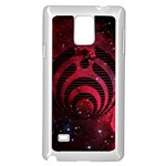 Bassnectar Galaxy Nebula Samsung Galaxy Note 4 Case (White)