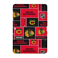 Chicago Blackhawks Nhl Block Fleece Fabric Samsung Galaxy Tab 2 (10 1 ) P5100 Hardshell Case  by Onesevenart
