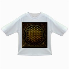 Bring Me The Horizon Cover Album Gold Infant/toddler T Shirts by Onesevenart
