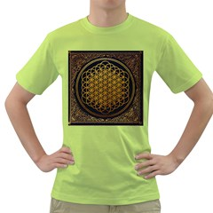 Bring Me The Horizon Cover Album Gold Green T Shirt by Onesevenart