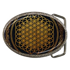 Bring Me The Horizon Cover Album Gold Belt Buckles by Onesevenart