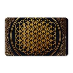 Bring Me The Horizon Cover Album Gold Magnet (rectangular) by Onesevenart