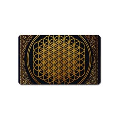 Bring Me The Horizon Cover Album Gold Magnet (name Card) by Onesevenart