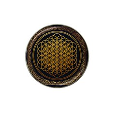 Bring Me The Horizon Cover Album Gold Hat Clip Ball Marker (4 Pack) by Onesevenart