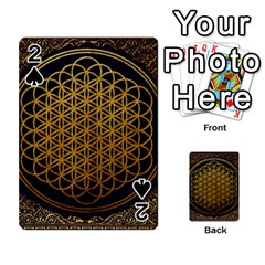 Bring Me The Horizon Cover Album Gold Playing Cards 54 Designs  by Onesevenart