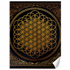 Bring Me The Horizon Cover Album Gold Canvas 36  X 48   by Onesevenart