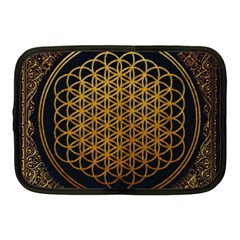 Bring Me The Horizon Cover Album Gold Netbook Case (medium)  by Onesevenart