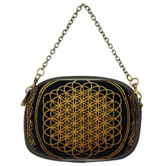 Bring Me The Horizon Cover Album Gold Chain Purses (two Sides)  by Onesevenart