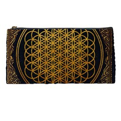 Bring Me The Horizon Cover Album Gold Pencil Cases by Onesevenart