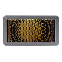 Bring Me The Horizon Cover Album Gold Memory Card Reader (mini) by Onesevenart