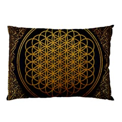 Bring Me The Horizon Cover Album Gold Pillow Case (two Sides) by Onesevenart