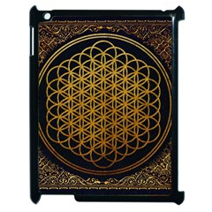 Bring Me The Horizon Cover Album Gold Apple Ipad 2 Case (black) by Onesevenart