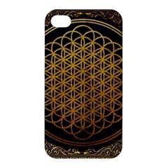 Bring Me The Horizon Cover Album Gold Apple Iphone 4/4s Hardshell Case by Onesevenart