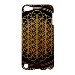 Bring Me The Horizon Cover Album Gold Apple Ipod Touch 5 Hardshell Case by Onesevenart