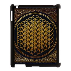 Bring Me The Horizon Cover Album Gold Apple Ipad 3/4 Case (black) by Onesevenart