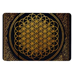Bring Me The Horizon Cover Album Gold Samsung Galaxy Tab 8 9  P7300 Flip Case by Onesevenart