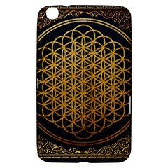 Bring Me The Horizon Cover Album Gold Samsung Galaxy Tab 3 (8 ) T3100 Hardshell Case  by Onesevenart