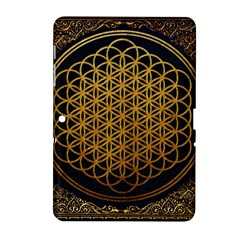 Bring Me The Horizon Cover Album Gold Samsung Galaxy Tab 2 (10 1 ) P5100 Hardshell Case  by Onesevenart