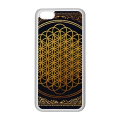 Bring Me The Horizon Cover Album Gold Apple Iphone 5c Seamless Case (white) by Onesevenart