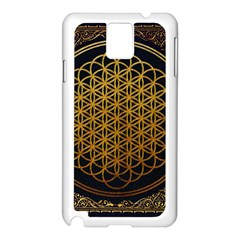 Bring Me The Horizon Cover Album Gold Samsung Galaxy Note 3 N9005 Case (white) by Onesevenart