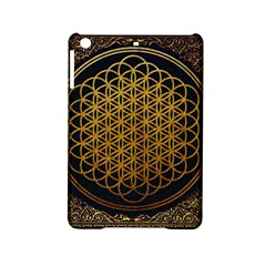 Bring Me The Horizon Cover Album Gold Ipad Mini 2 Hardshell Cases by Onesevenart