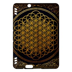 Bring Me The Horizon Cover Album Gold Kindle Fire Hdx Hardshell Case by Onesevenart