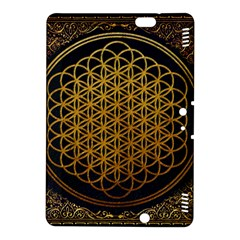 Bring Me The Horizon Cover Album Gold Kindle Fire Hdx 8 9  Hardshell Case by Onesevenart