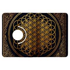 Bring Me The Horizon Cover Album Gold Kindle Fire Hdx Flip 360 Case by Onesevenart