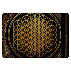 Bring Me The Horizon Cover Album Gold Ipad Air Flip by Onesevenart