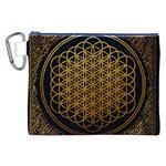 Bring Me The Horizon Cover Album Gold Canvas Cosmetic Bag (XXL)