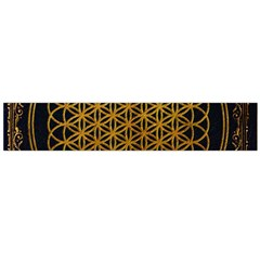 Bring Me The Horizon Cover Album Gold Flano Scarf (large) by Onesevenart