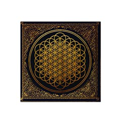 Bring Me The Horizon Cover Album Gold Satin Bandana Scarf by Onesevenart