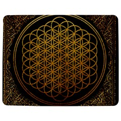 Bring Me The Horizon Cover Album Gold Jigsaw Puzzle Photo Stand (rectangular) by Onesevenart
