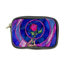 Enchanted Rose Stained Glass Coin Purse by Onesevenart