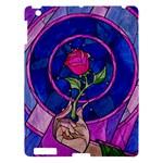 Enchanted Rose Stained Glass Apple iPad 3/4 Hardshell Case