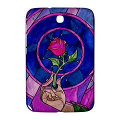 Enchanted Rose Stained Glass Samsung Galaxy Note 8 0 N5100 Hardshell Case  by Onesevenart