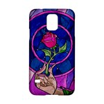 Enchanted Rose Stained Glass Samsung Galaxy S5 Hardshell Case
