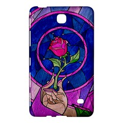 Enchanted Rose Stained Glass Samsung Galaxy Tab 4 (7 ) Hardshell Case  by Onesevenart