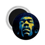 Gabz Jimi Hendrix Voodoo Child Poster Release From Dark Hall Mansion 2.25  Magnets