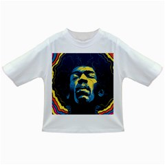 Gabz Jimi Hendrix Voodoo Child Poster Release From Dark Hall Mansion Infant/toddler T Shirts by Onesevenart