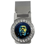 Gabz Jimi Hendrix Voodoo Child Poster Release From Dark Hall Mansion Money Clips (CZ)