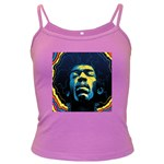 Gabz Jimi Hendrix Voodoo Child Poster Release From Dark Hall Mansion Dark Spaghetti Tank