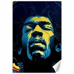Gabz Jimi Hendrix Voodoo Child Poster Release From Dark Hall Mansion Canvas 12  x 18