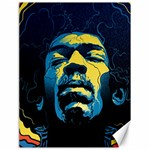 Gabz Jimi Hendrix Voodoo Child Poster Release From Dark Hall Mansion Canvas 18  x 24
