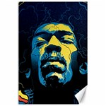 Gabz Jimi Hendrix Voodoo Child Poster Release From Dark Hall Mansion Canvas 24  x 36