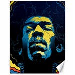 Gabz Jimi Hendrix Voodoo Child Poster Release From Dark Hall Mansion Canvas 36  x 48