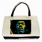 Gabz Jimi Hendrix Voodoo Child Poster Release From Dark Hall Mansion Basic Tote Bag (Two Sides)