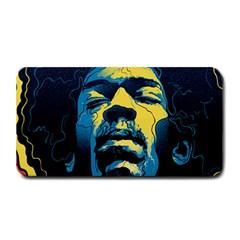Gabz Jimi Hendrix Voodoo Child Poster Release From Dark Hall Mansion Medium Bar Mats by Onesevenart