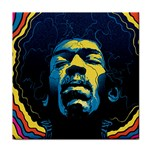 Gabz Jimi Hendrix Voodoo Child Poster Release From Dark Hall Mansion Face Towel